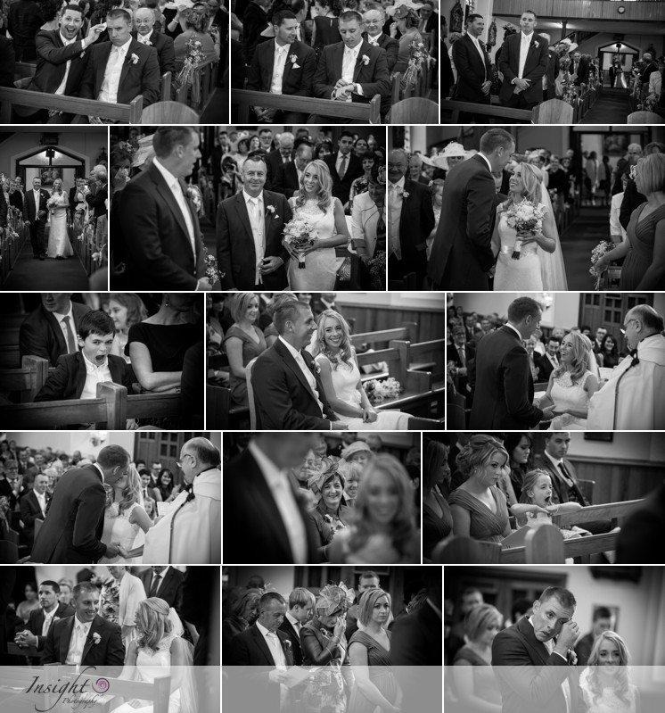 unobtrusive wedding photographer